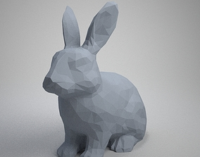 cute rabbit 3D print model