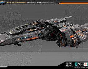 SF FEDERATION Commander Ship GB7 3D model