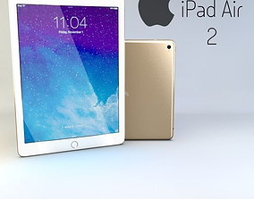 3D model iPad Air 2