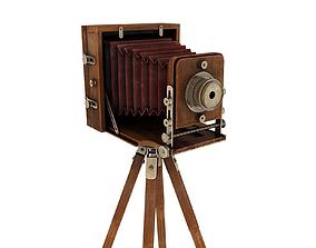 Retro Camera 3D model