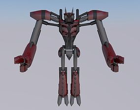 pistons Robot 3D
