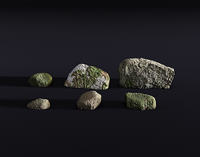 rock pack 1 - photoscanned 3D