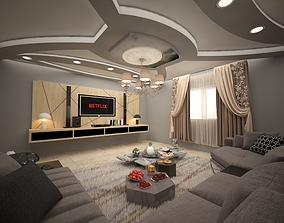 house guest room 3D