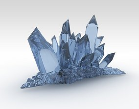 3D model Fantasy crystals