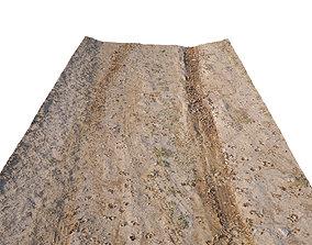 low-poly Dirt Road 3D Scan