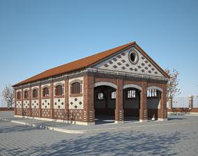 3D model Old Warehouse