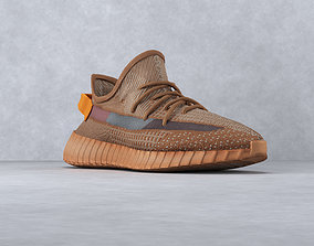 yeezy 350 v2 clay low 3D asset