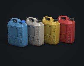 3D asset Plastic Canister
