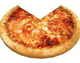 Tasty italian pizza 3D model VR / AR ready