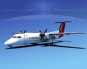 DeHavilland DHC-8-Q300 Skytrans 3D