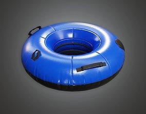 SAG - Snow Tube 01a - PBR Game Ready 3D model