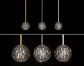 3D model Restoration Hardware BOULE DE CRISTAL SINGLE ROD
