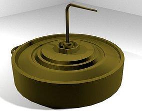3D Landmine Anti-Vehicle Blast Mine