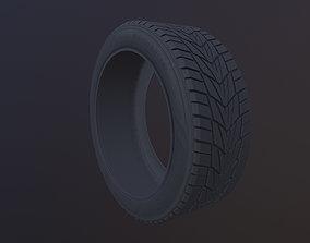 Tire Model and 4K Texture 3D model no Symmetry