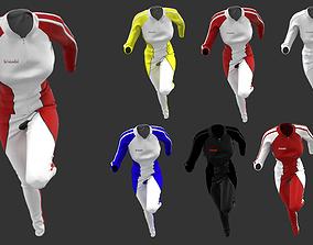 Female Sport Suit - 3D Marvelous Designer