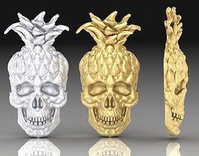skull pineapple 3D print model