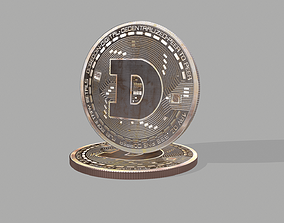 Dogecoin 3D model