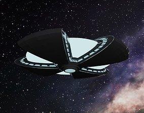 3D UFO Saucer Advanced PRO