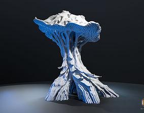 3D printable model Alien Plant Mushroom