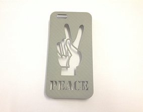 3D printable model Peace Hand Iphone Case 6 6s