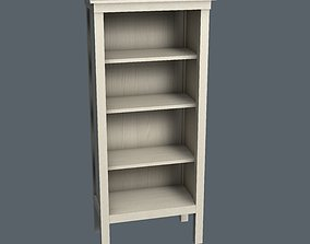 3D model game-ready Bookcase bookcase