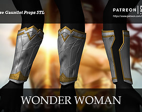 Wonder Woman Gauntlet Full Size 3D print ready STL