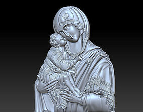 3D printable model Mary with child