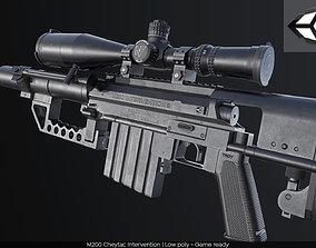 3D asset M200 Cheytac Intervention PBR GameReady