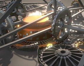 3D model Mechanical City 0-15