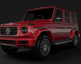 3D Mercedes Benz G 500 Night Packet W464 2018