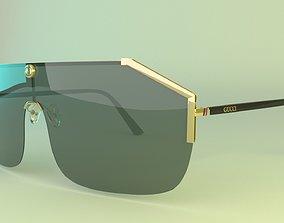 Branded Glasses GG 3D model