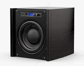 3D Velodyne DD-10 Plus Black Gloss Ebony