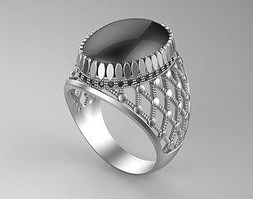 Gentleman Ring side net 3D print model