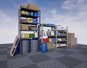 Environment Props PBR 3D