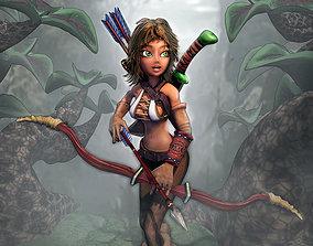 Rhue the hunter 3D model