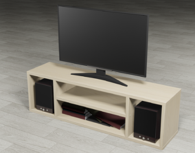 TV table furniture 3D