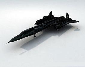 SR71 Blackbird Recon 3D asset