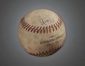 Baseball 01a - Sports And Gym 3D asset