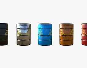 capacity 3D asset realtime Barrel