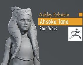 Ashley Eckstein - Ahsoka Tano - Star 3D printable model
