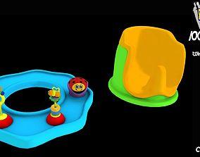 Toys Potty setShop 3D asset