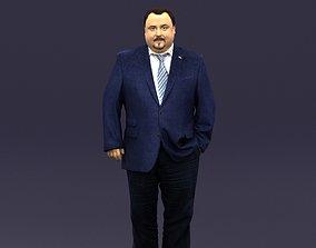3D model Tie man 0418