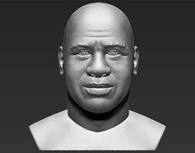 Magic Johnson bust 3D printing ready stl obj formats