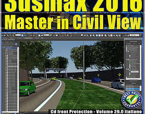 029 3ds max 2016 Master in Civil View vol 29 cd animated 1