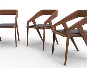 3D asset realtime Modern Chair
