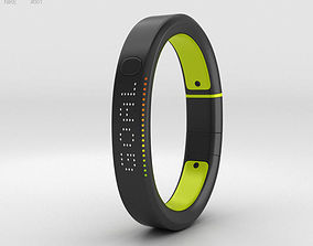 Nike plus FuelBand SE Volt 3D model