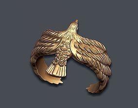 rhino Eagle ring 3D printable model