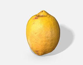 3D asset Fruit Lemon - Photoscanned PBR