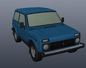 Lada Niva 4x4 3D model