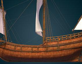 Pinta 1492 Caravel 3D asset